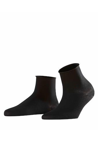 FALKE Socken »Cotton Touch«, (1 Paar), mit femininen Rollrand kaufen