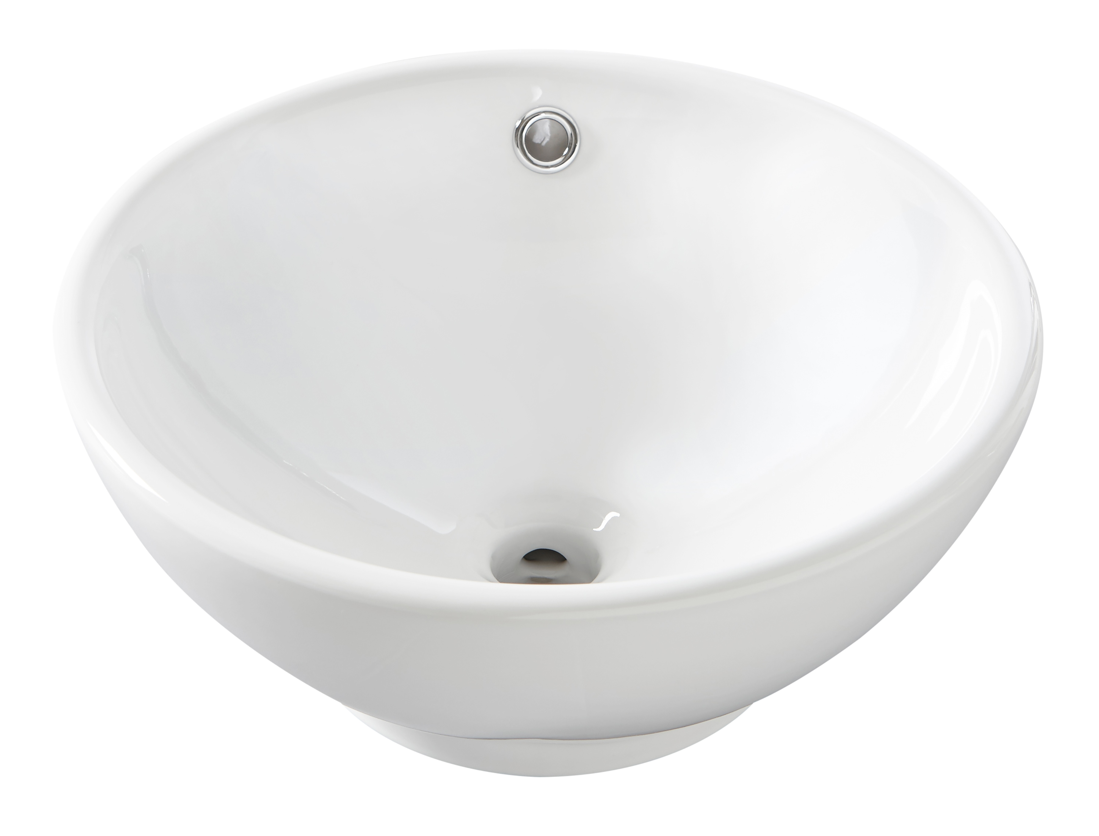 Image of Aufsatz-Waschbecken, rund, 40 cm Durchmesser