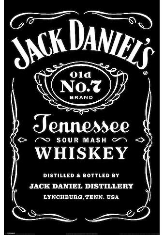 Reinders! Deco-Panel »Jack Daniel´s Label«, 60/90 cm kaufen
