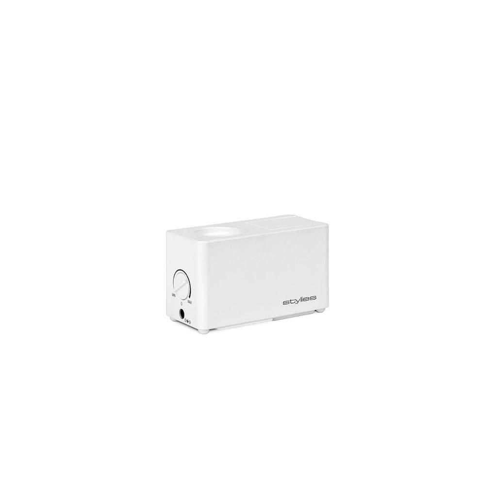 Luftbefeuchter »Ultraschall Atlas Weiss«, 0,5 l Wassertank