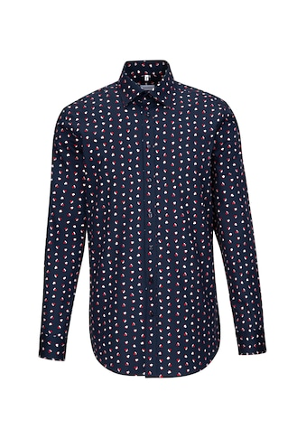 seidensticker Businesshemd »Regular«, Regular Langarm Covered-Button-Down-Kragen Floral kaufen