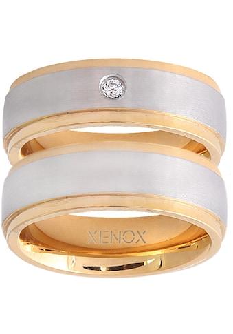 XENOX Partnerring »X2228, X2229«, wahlweise mit oder ohne Zirkonia kaufen
