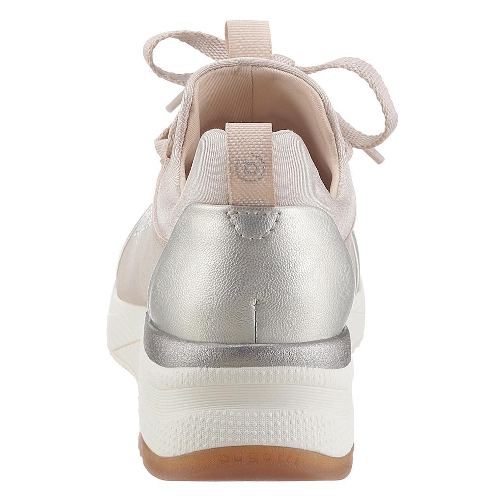 bugatti Wedgesneaker »RISE«, mit zwei Anziehlaschen