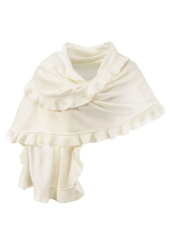 PURSET Schal, Poncho mit Rüschen kaufen