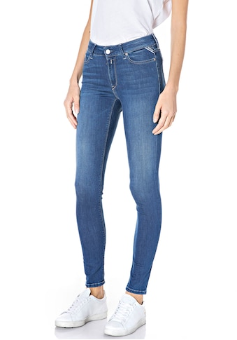 Replay Skinny-fit-Jeans »Luzien«, Power-Stretch-Denim - Highwaist kaufen