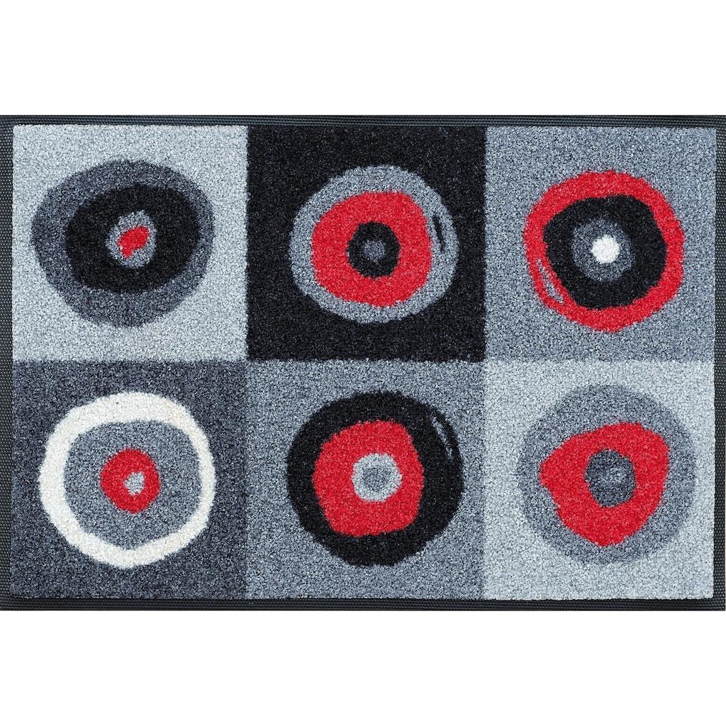 wash+dry by Kleen-Tex Läufer »Sergej«, rechteckig, 7 mm Höhe, In- und Outdoor geeignet, waschbar