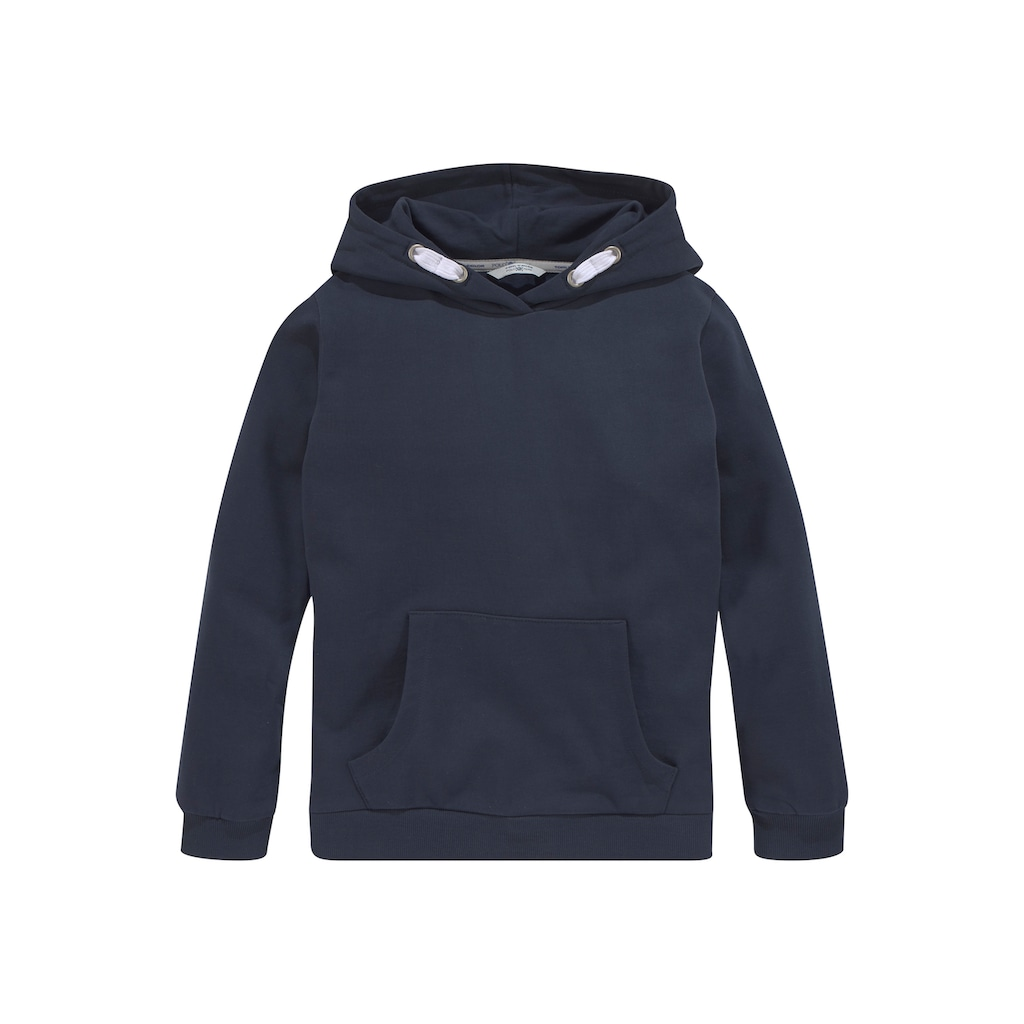 TOM TAILOR Polo Team Kapuzensweatshirt, mit Rückenschriftzug