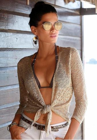 s.Oliver Beachwear Strickjacke kaufen