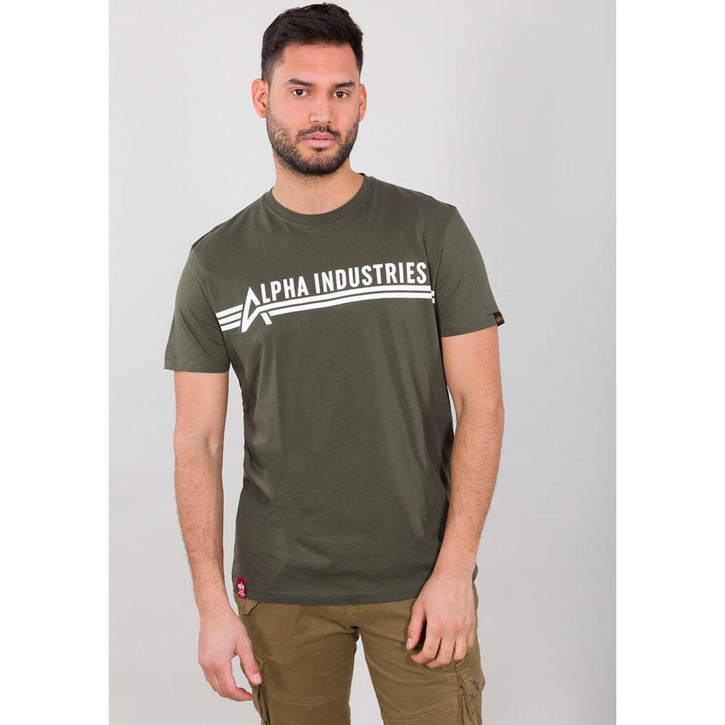 Alpha Industries Rundhalsshirt »ALPHA INDUSTRIES T«