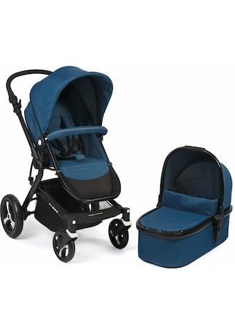 CHIC4BABY Kombi-Kinderwagen »Passo, navy«, 15 kg, ; Kinderwagen kaufen