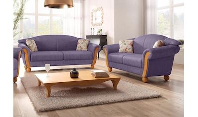 Home affaire Sitzgruppe »Milano«, (2 tlg.), 2-Sitzer und 3-Sitzer kaufen