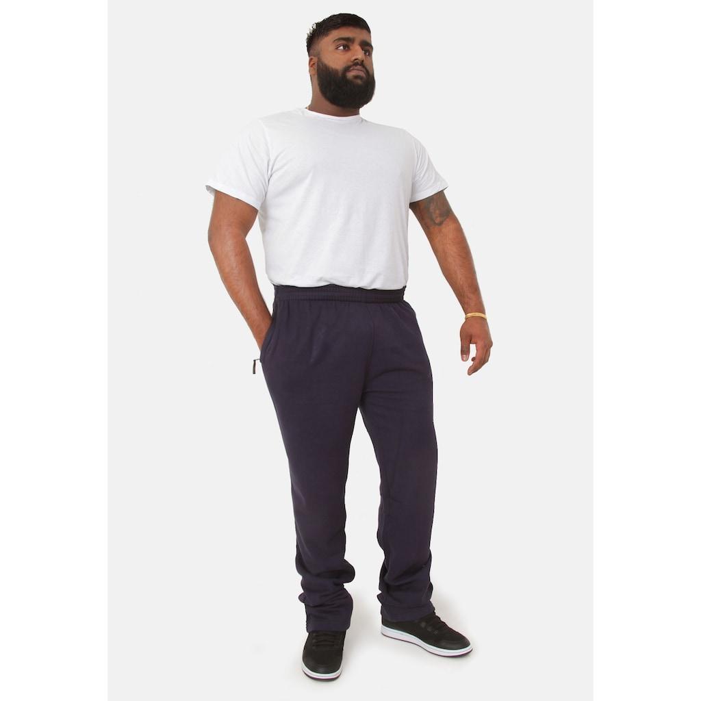 Duke Clothing Jogginghose »Herren Kingsize Albert Jogging Hose, gerade Bündchen«