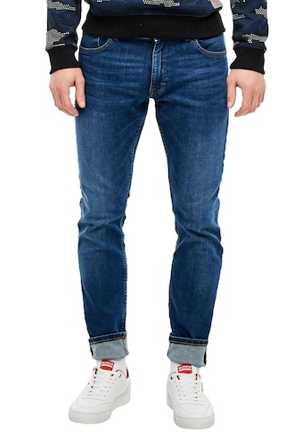 Q/S by s.Oliver Straight-Jeans »RICK«, leichte Used-Waschung kaufen