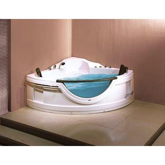 SANOTECHNIK Badewanne »COSTA RICA«, Eck Whirlpool mit Fenster, 150x150x68 cm kaufen