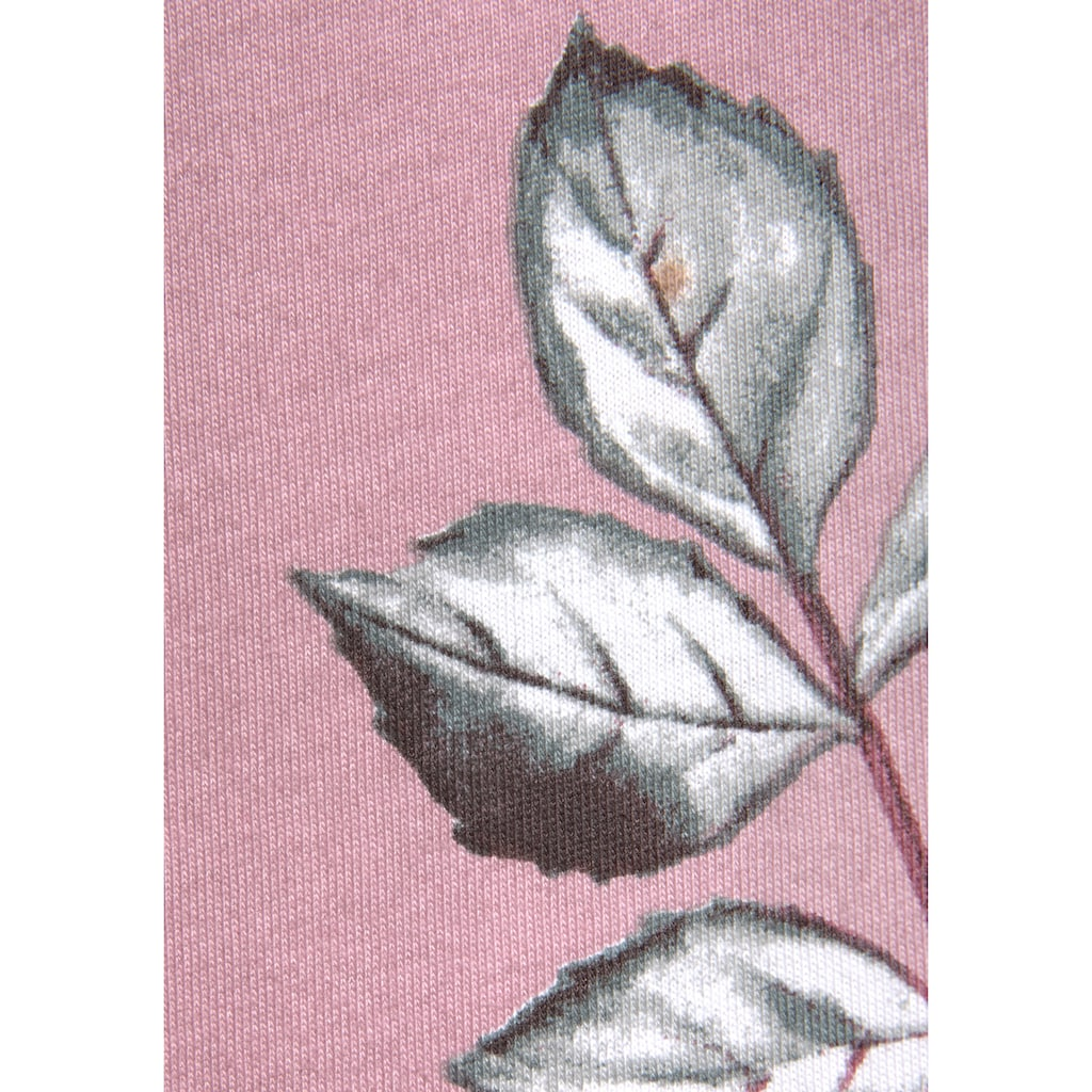 Vivance Dreams Sleepshirt, (2er-Pack), mit Blumendruck