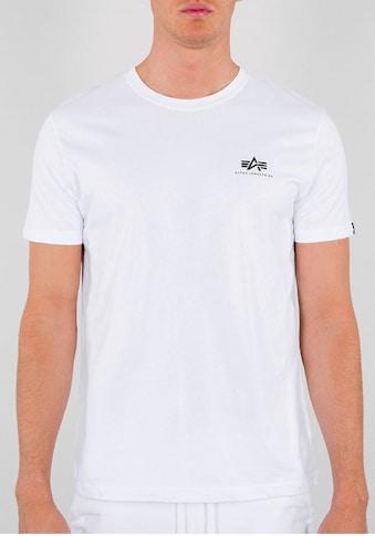 Alpha Industries Rundhalsshirt »Backprint T« kaufen