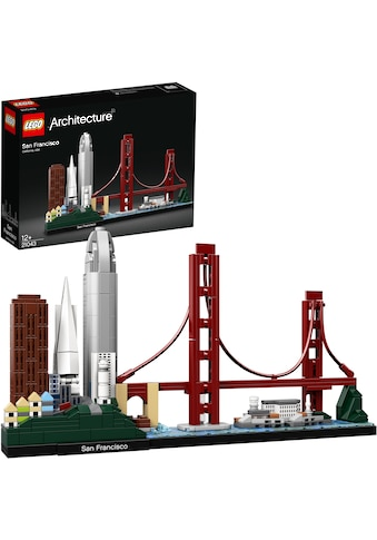 LEGO® Konstruktionsspielsteine »San Francisco (21043), LEGO® Architecture«, (565 St.), Made in Europe kaufen