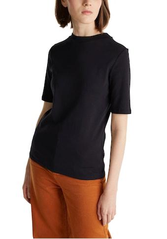 edc by Esprit T-Shirt, mit kleinem Stehkragen und halblangem Arm kaufen