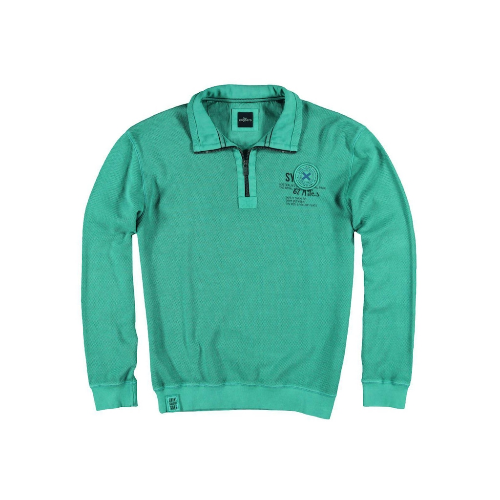 Engbers struckturiertes Sweatshirt