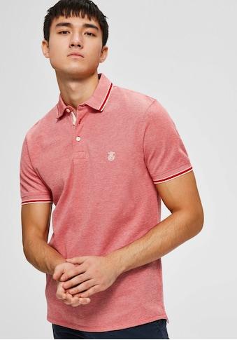 SELECTED HOMME Poloshirt »TWIST POLO« kaufen