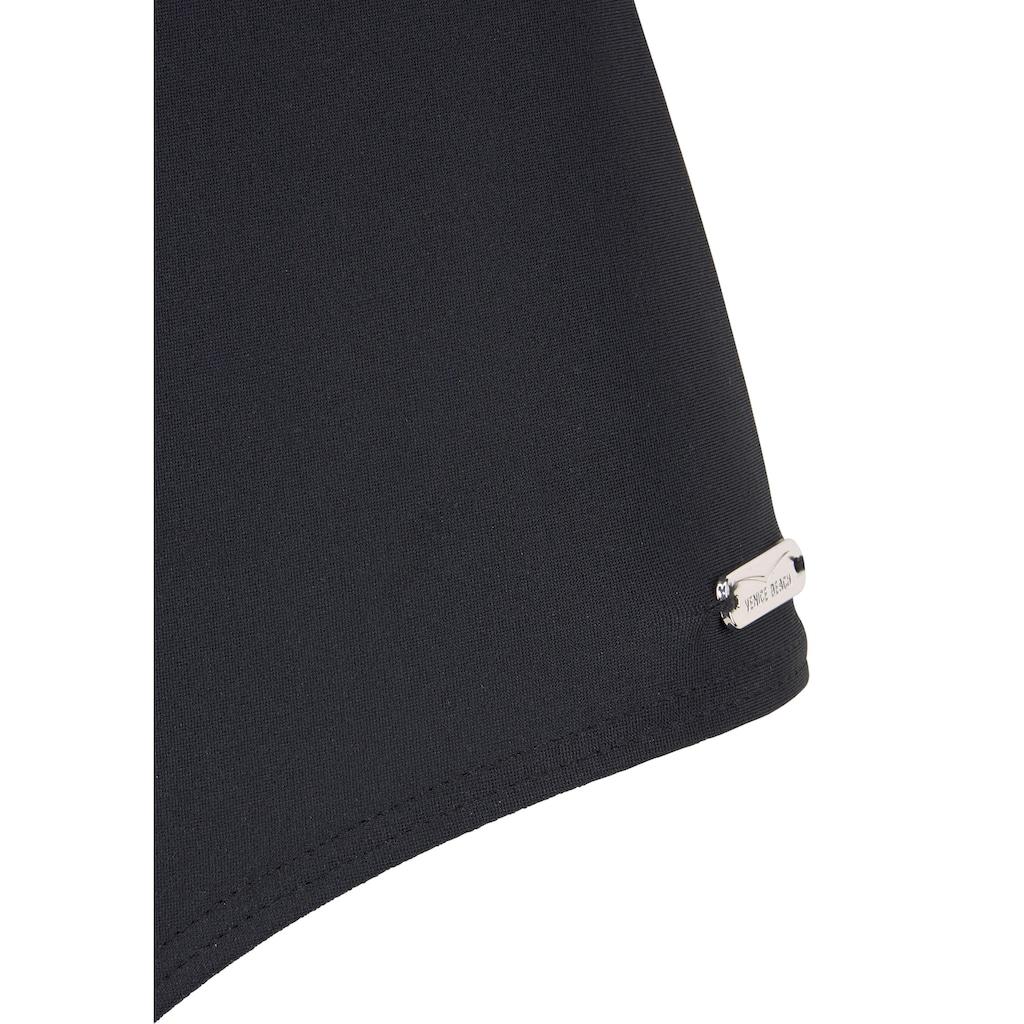 Venice Beach Badeanzug, mit trendigem Logoprint