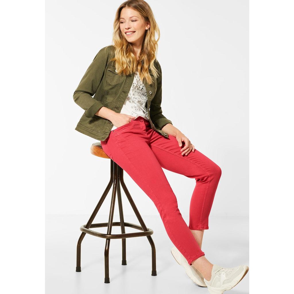 Cecil Slim-fit-Jeans, aus dem Repreve®Verfahren