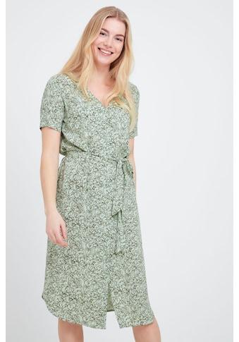 fransa Druckkleid »Fransa Midikleid mit floralem Print«, Sommerkleid mit Print kaufen