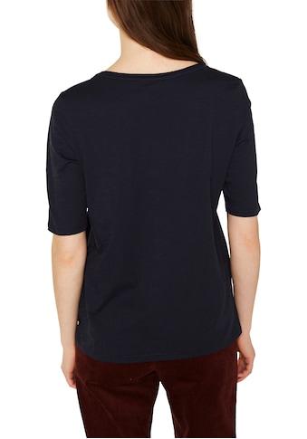 Esprit T-Shirt, mit Halbarm und Rundhalsausschnitt kaufen