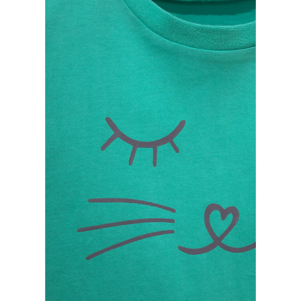 Arizona Shorty, mit Cat Print