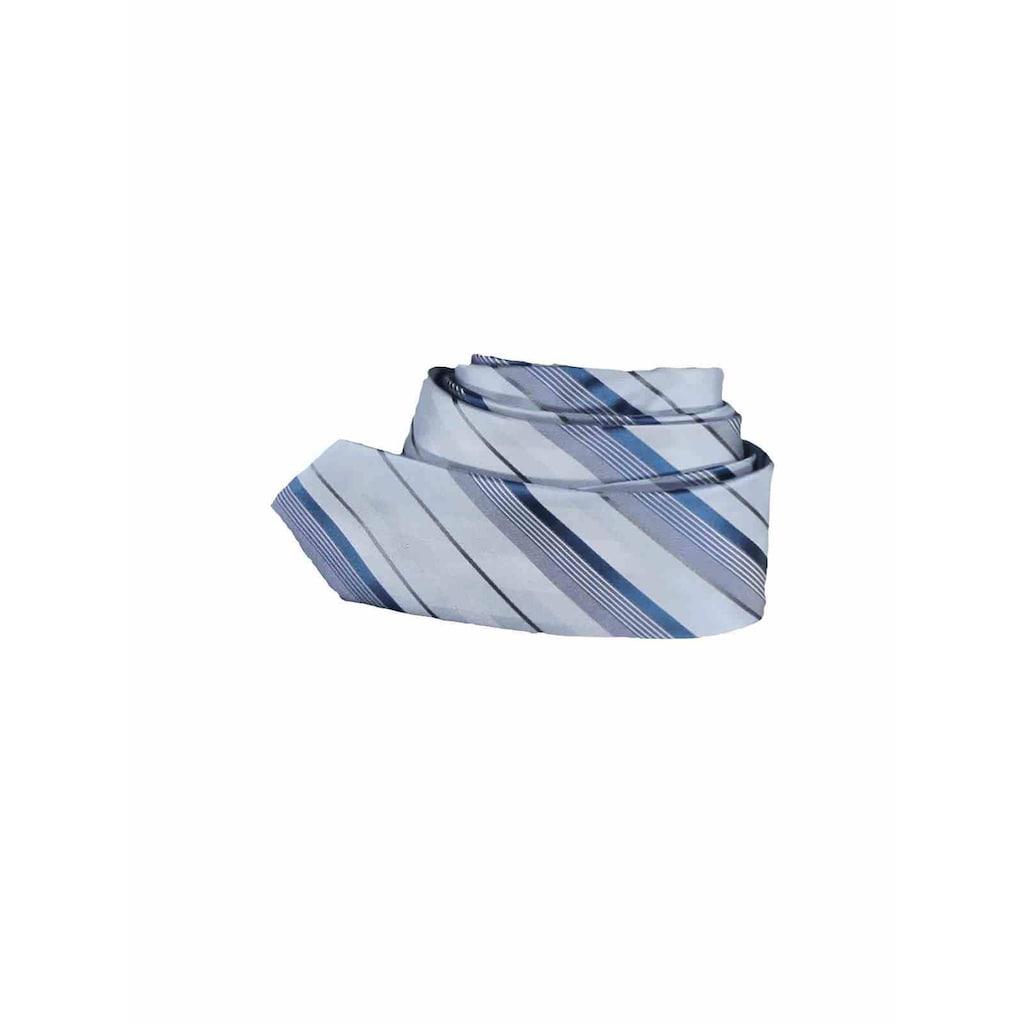 Engbers Krawatte, mit Streifenmusterung