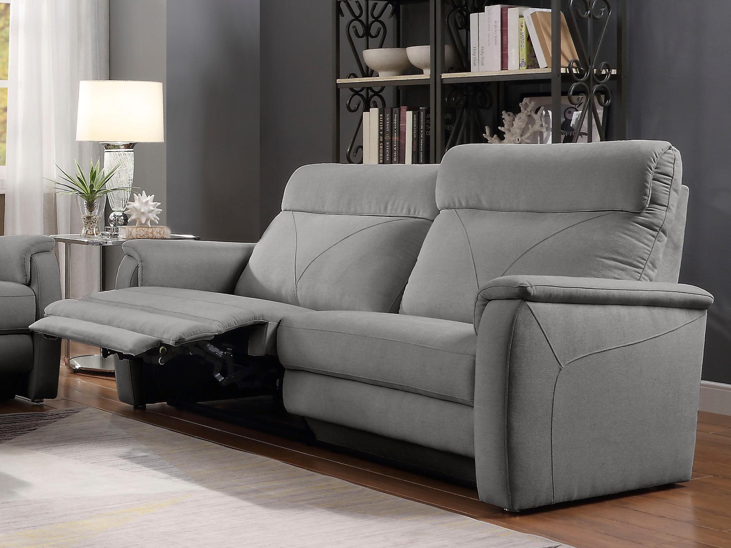 Image of ATLANTIC home collection 2-Sitzer »Stefan«, mit einer Relaxfunktion, Taschenfederkern und eleganten Ziernähten