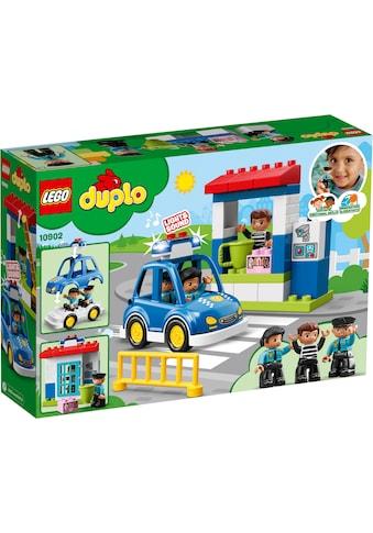 """LEGO® Konstruktionsspielsteine """"Polizeistation (10902), LEGO® DUPLO™"""", Kunststoff, (38 - tlg.) kaufen"""