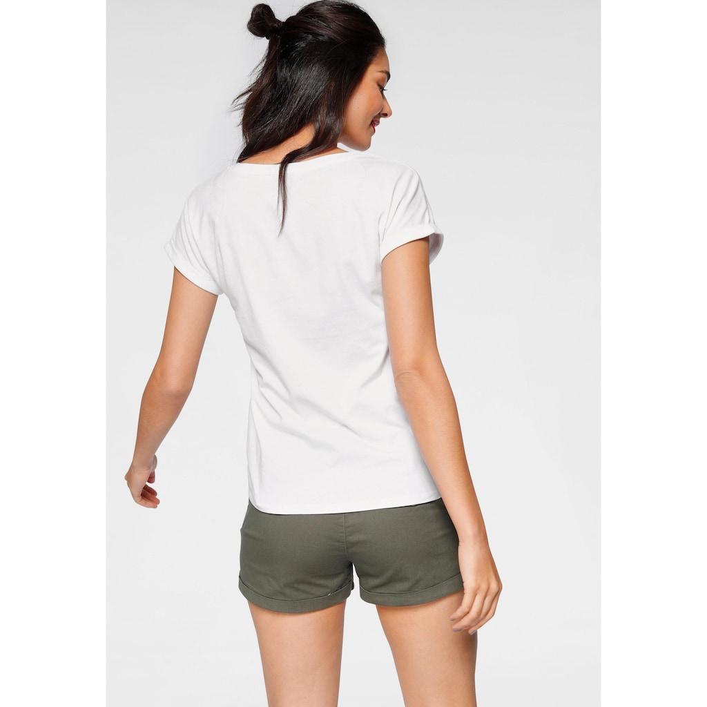 AJC T-Shirt, mit sommerlichen Statementprint
