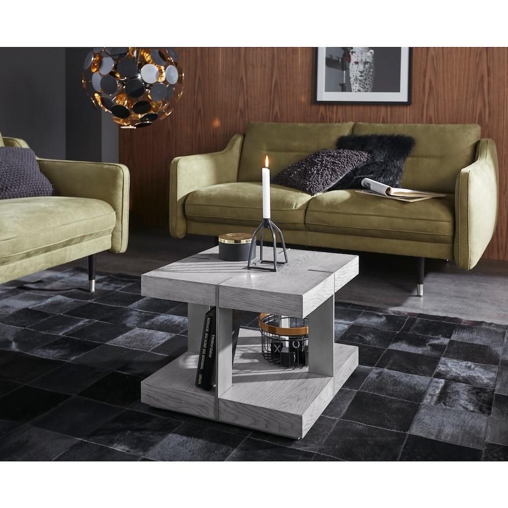 Places of Style Couchtisch »Verrazzano«, in unterschiedlichen Farben und Grössen erhältlich, aus Holz und Metall gefertigt