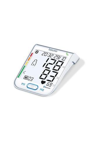 BEURER Oberarm-Blutdruckmessgerät »BM77«, Abschaltautomatik, Arrhythmie-Erkennung,... kaufen