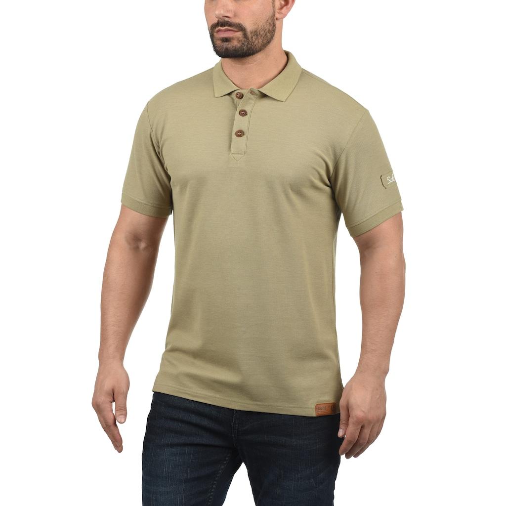 Solid Poloshirt »TripPolo«, Polo mit verlängerter Rückenpartie