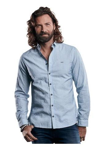 emilio adani leichtes Hemd mit Webstreifen kaufen