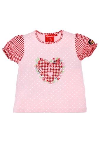 BONDI Trachtenshirt, mit süssem Herzprint kaufen