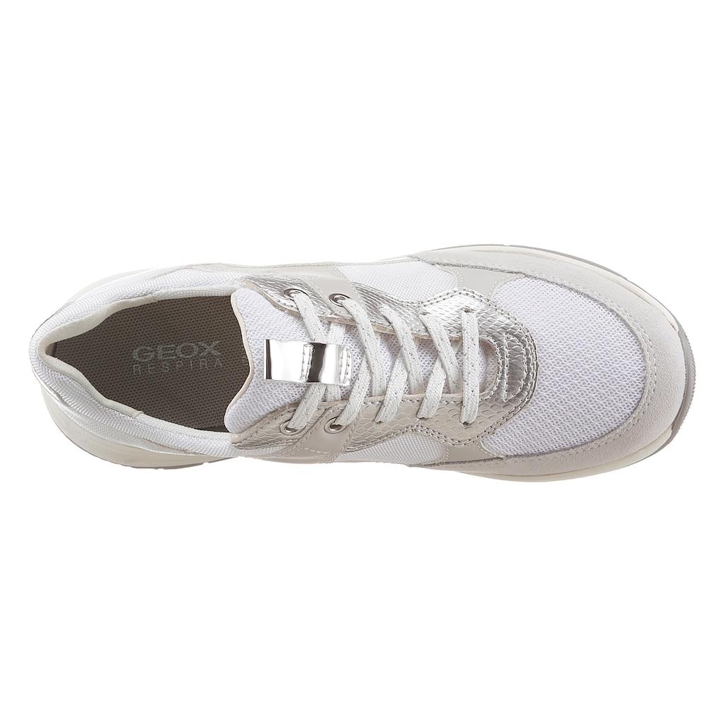Geox Sneaker, mit spezieller Membrane in der Laufsohle