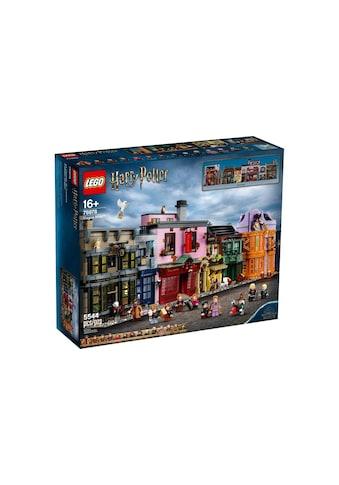 LEGO® Spielbausteine »Harry Potter Winkelgasse«, (5544 St.) kaufen