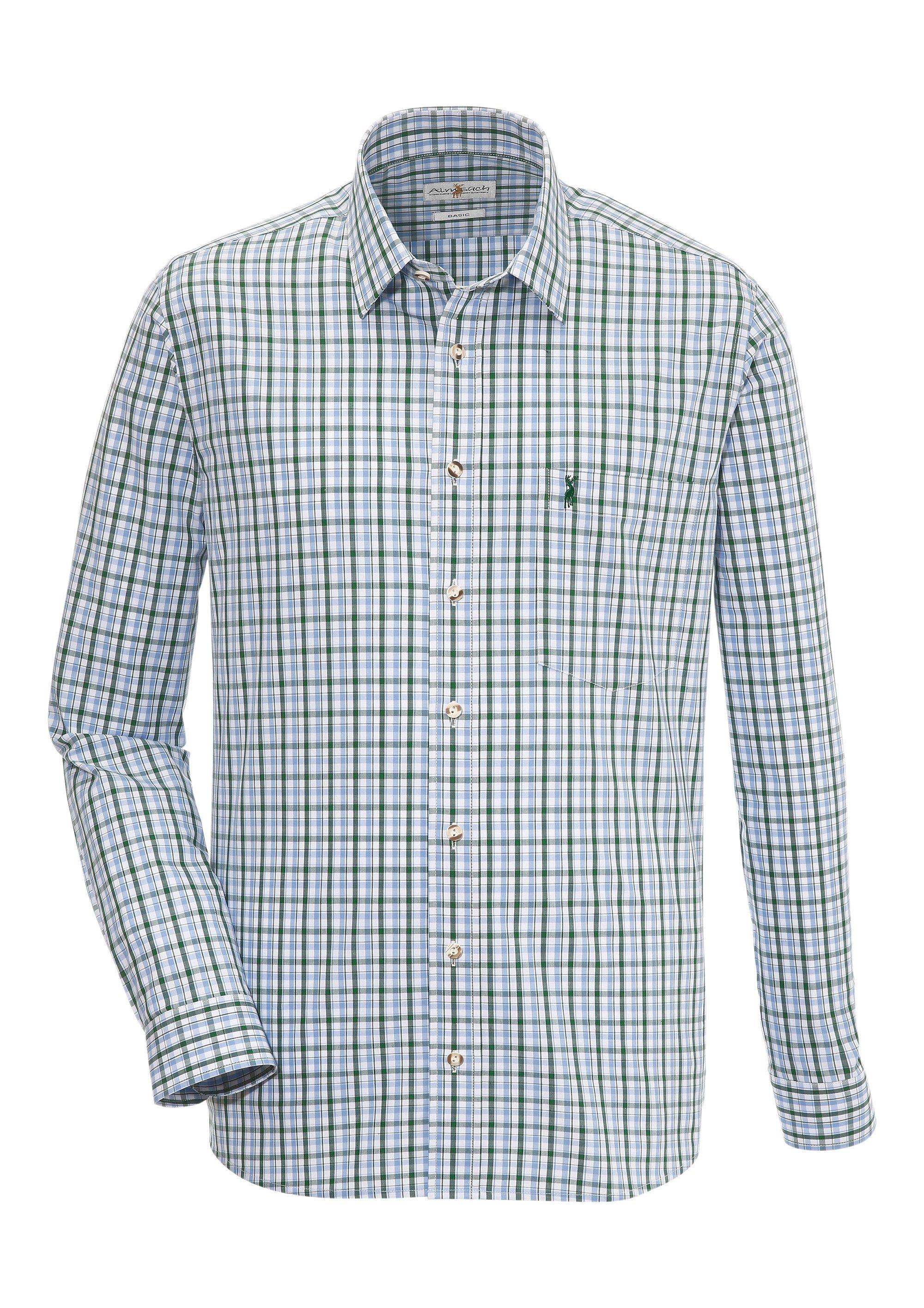 Image of Almsach Trachtenhemd im Karo-Design