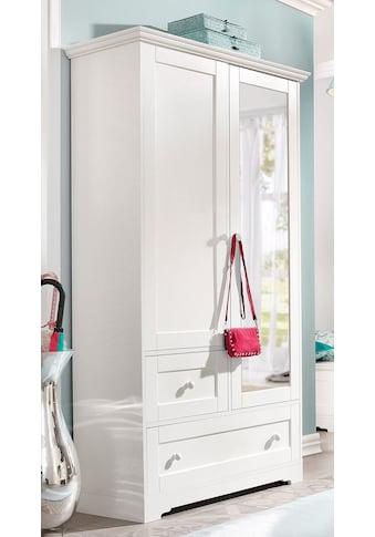 Home affaire Garderobenschrank »Lourdes«, mit Spiegel kaufen