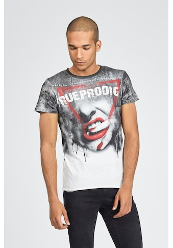 trueprodigy T-Shirt »Red Lips C-Neck«, mit Motivprint kaufen