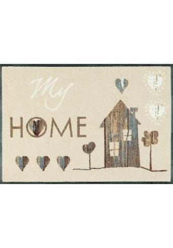 wash+dry by Kleen-Tex Fussmatte »My Home«, rechteckig, 7 mm Höhe, Fussabstreifer,... kaufen