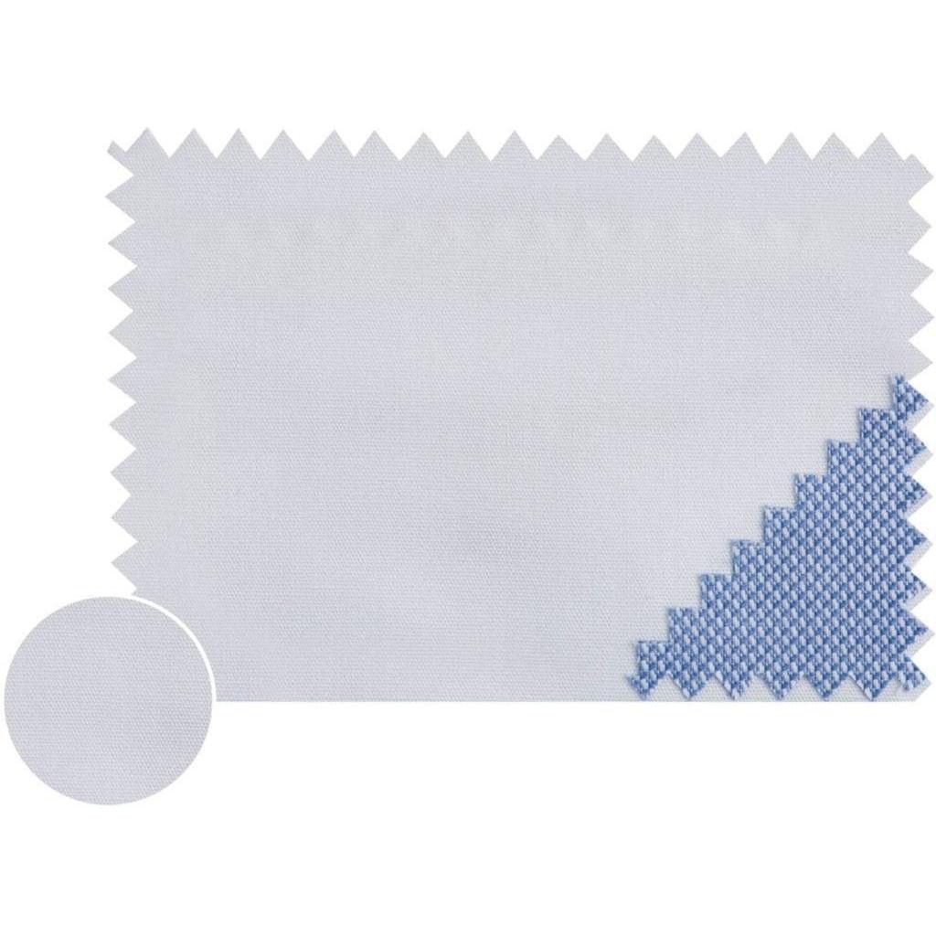 Tommy Hilfiger TAILORED Businesshemd »POPLIN CLASSIC SLIM SHIRT«, mit verdeckten Kontrastbesätzen