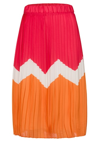 MORE&MORE Striped Plissee Skirt Active kaufen