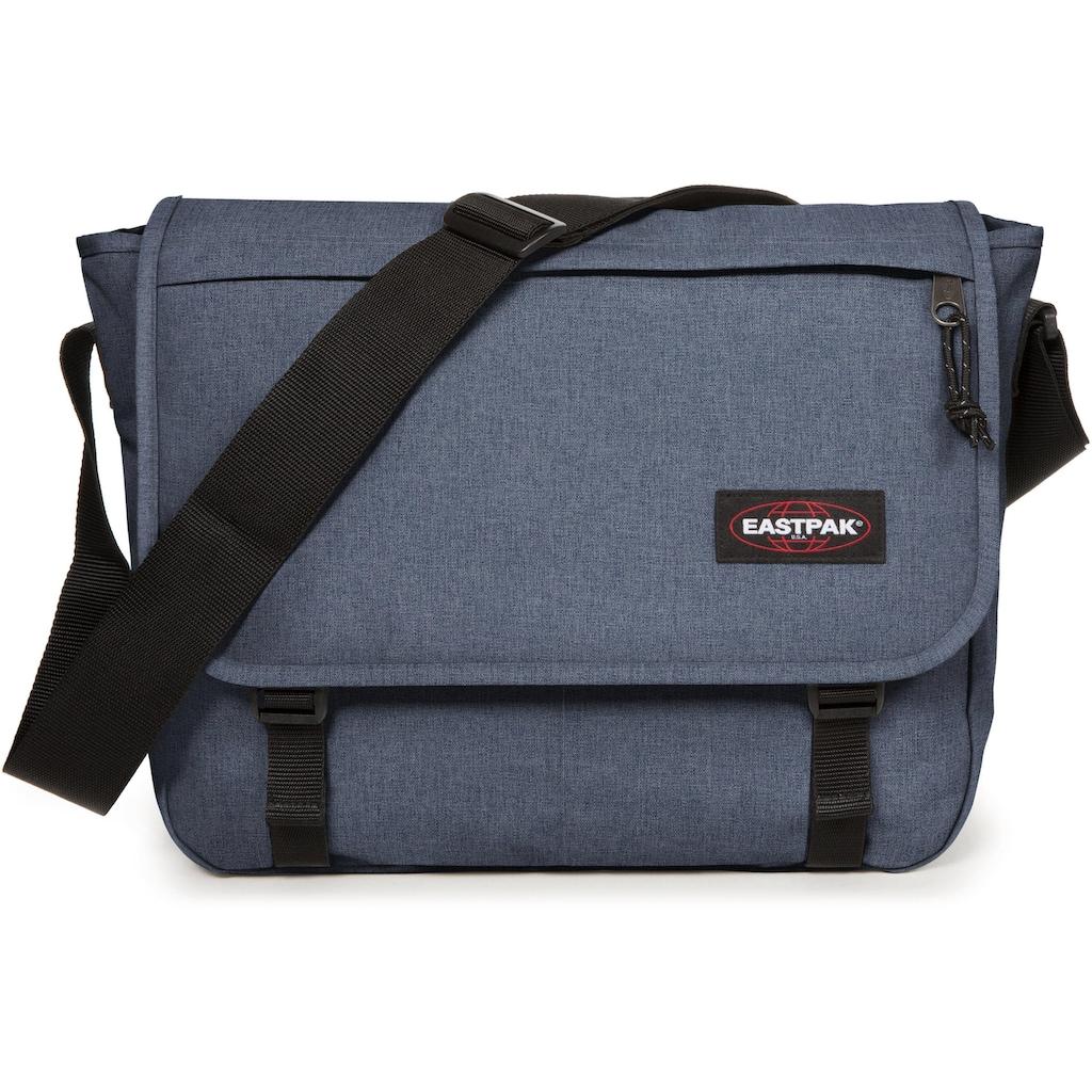 Eastpak Messenger Bag »DELEGATE+, Crafty Jeans«, mit Laptopfach, enthält recyceltes Material (Global Recycled Standard)