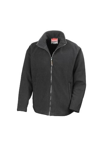 Result Fleecejacke »Herren Mikrofleece-Jacke, wasserabweisend, atmungsaktiv« kaufen