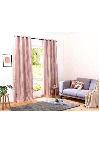 my home Verdunkelungsvorhang »Tinos«, Vorhang, Fertiggardine, Gardine, Breite 270 cm =... kaufen