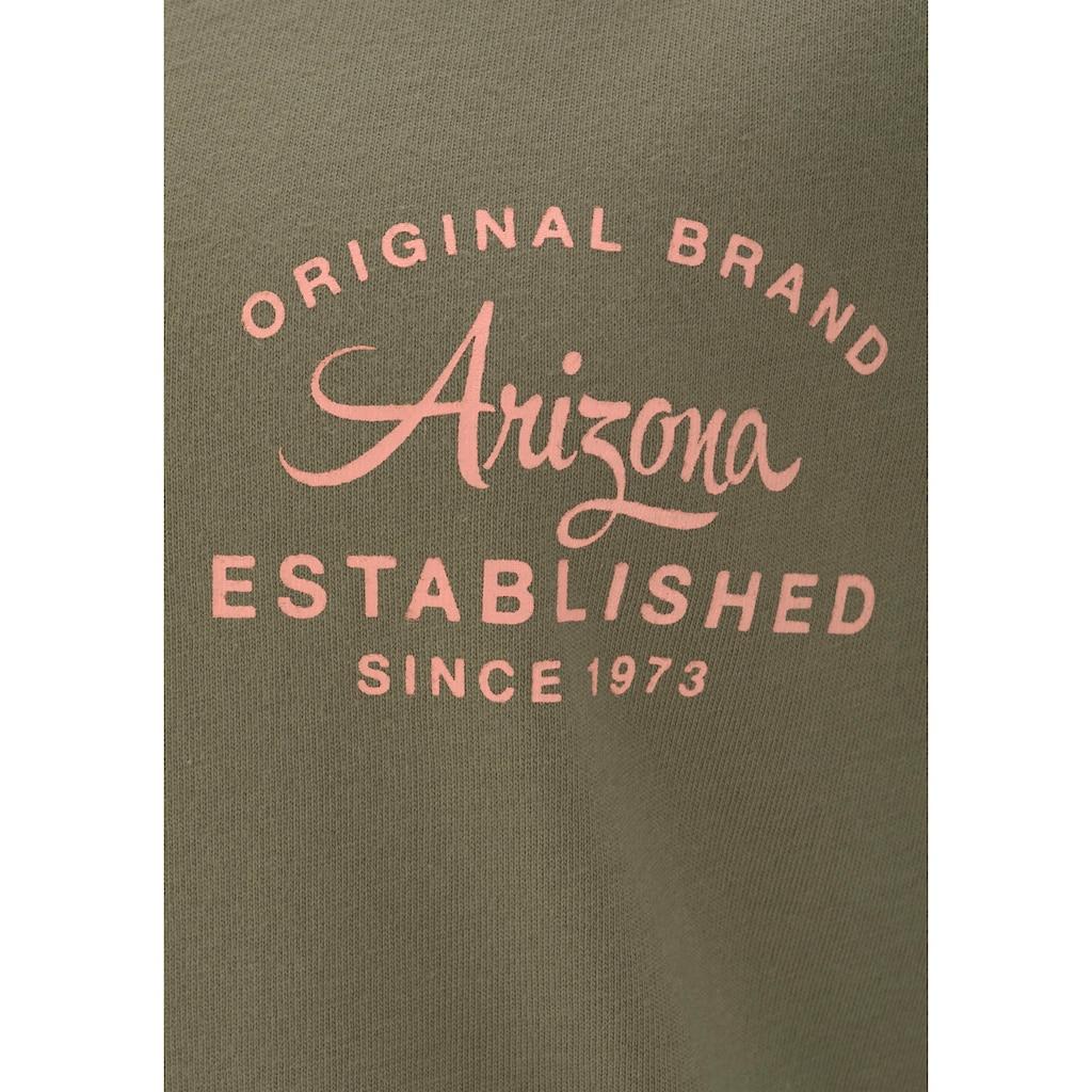 Arizona Pyjama, mit Raglanärmeln